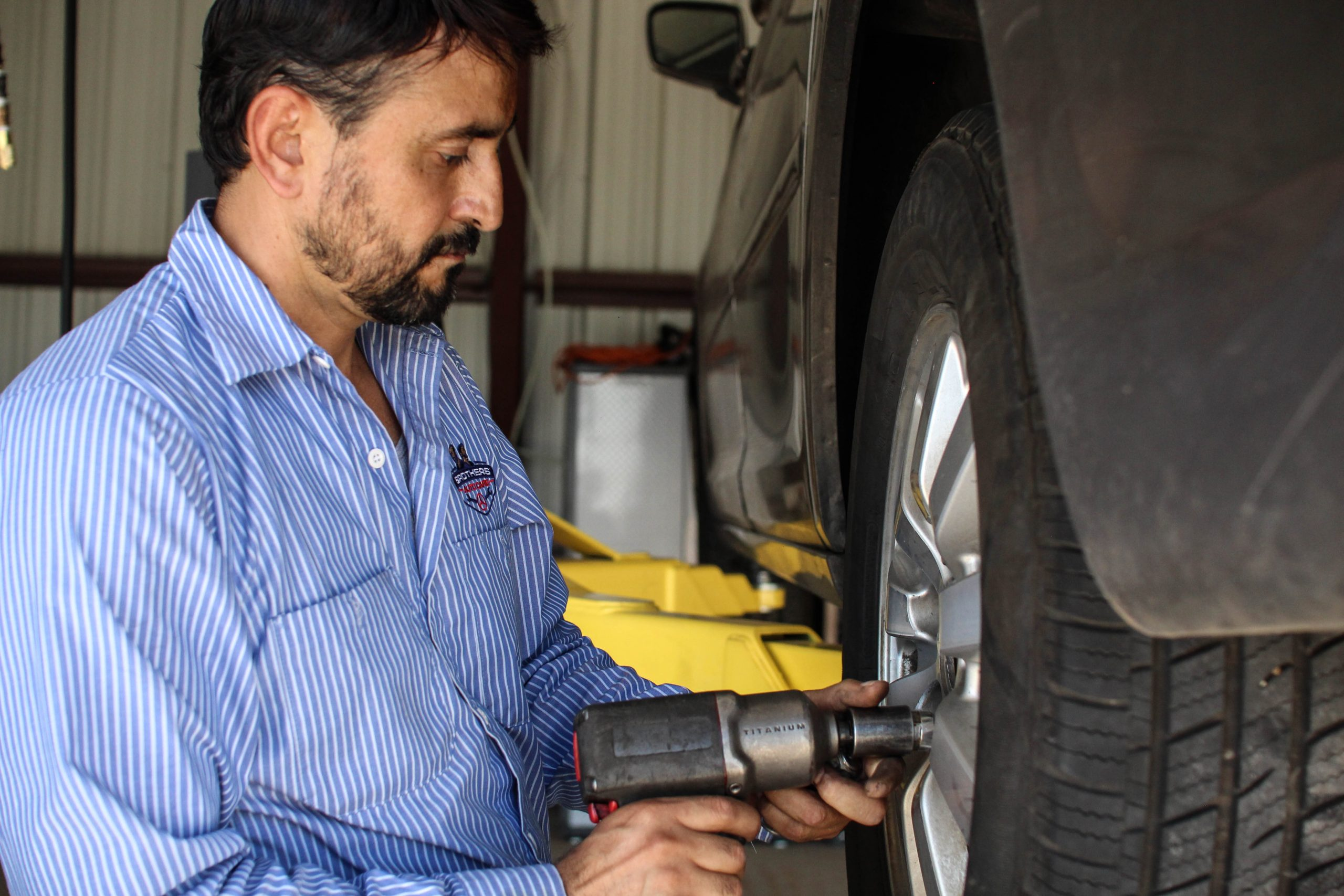 Flat Tire Repair and Assistance